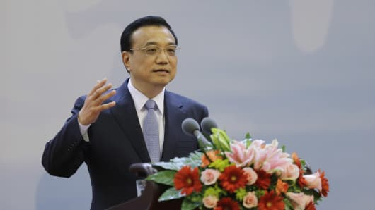 China's Premier Li Keqiang.